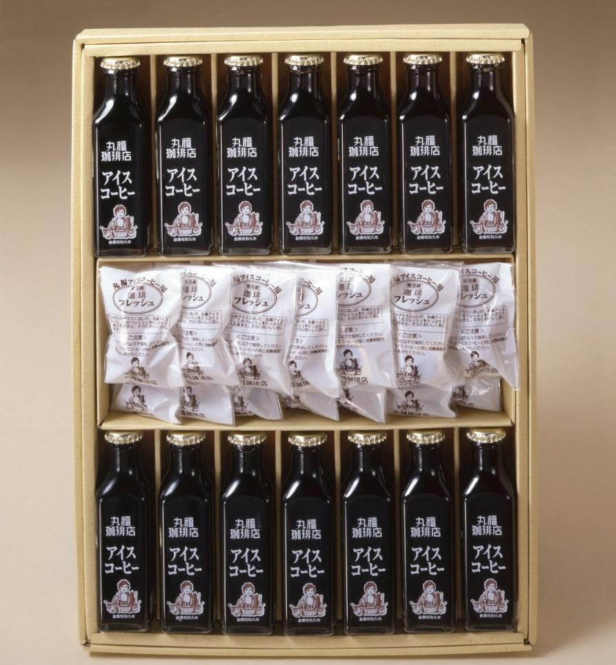 ギフトとして人気の高い瓶詰めコーヒー14本セット(送料無料)